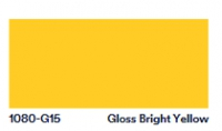 3M™ Scotchprint® Wrap Folie Serie 1080-G15, glänzend, Bright Yellow, Abschnitt: 1,52m X 0,6m