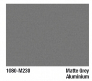3M™ Scotchprint® Wrap Folie Serie 1080-M230 Grey Aluminium Metallic, matt, Breite: 1520mm
