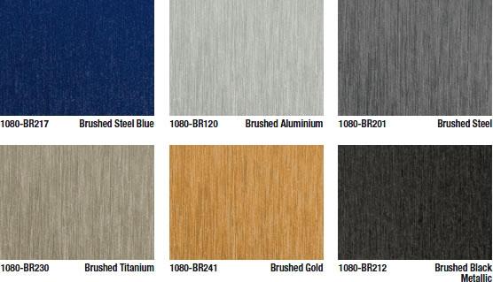 3m scotchprint wrap folie serie 1080 geb rstet brushed. Black Bedroom Furniture Sets. Home Design Ideas