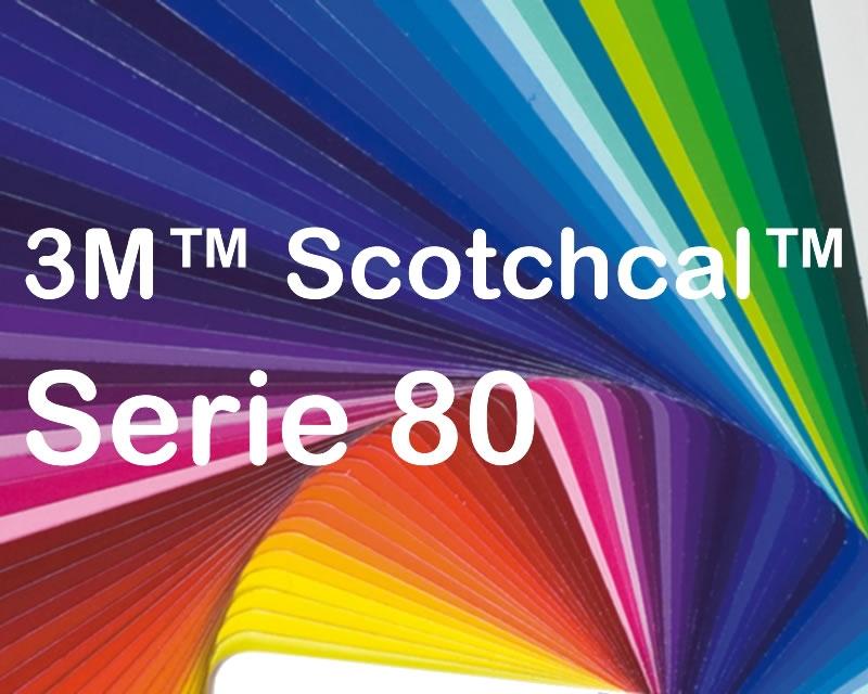 3m scotchcal opake farbfolie serie 80 farbig gl nzend 50m x 1220mm rolle 3m folien. Black Bedroom Furniture Sets. Home Design Ideas