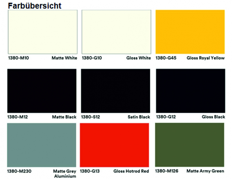 3m wrap folie serie 1380 matte gloss 25m x 1520mm. Black Bedroom Furniture Sets. Home Design Ideas